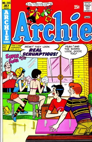 Archie #245 by Archie Superstars