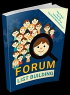 Forum List Building by Anonymous