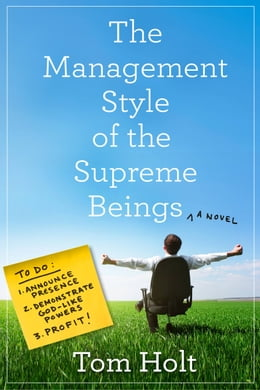 Book The Management Style of the Supreme Beings by Tom Holt