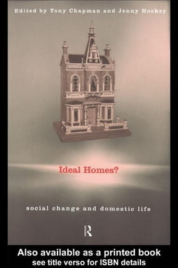 Book Ideal Homes? by Chapman, Tony