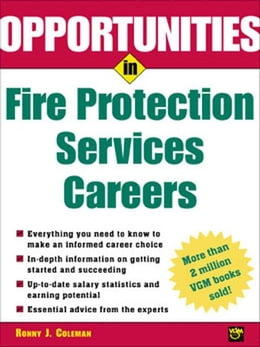Book Opportunities in Fire Protection Services Careers by Coleman, Ronny