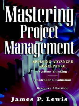 Book Mastering Project Management by Lewis, James