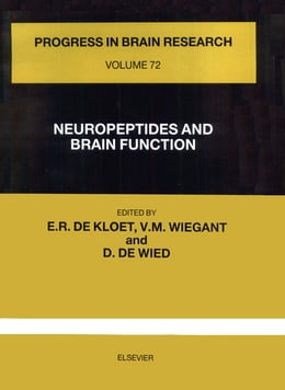 Book NEUROPEPTIDES AND BRAIN FUNCTION by de Kloet, E. Ronald