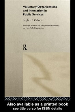 Book Voluntary Organizations and Innovation in Public Services by Osborne, Stephen