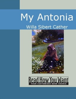 Book My Antonia by Cather,Willa Sibert