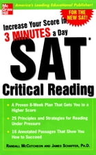Increase Your Score in 3 Minutes a Day: SAT Critical Reading: SAT CRITICAL READING (EBOOK) by Randall McCutcheon