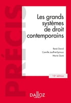 Les grands systèmes de droit contemporains by René David