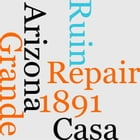 Grand Arizona Ruin Repair Casa 1891 by Cosmos Mindeleff
