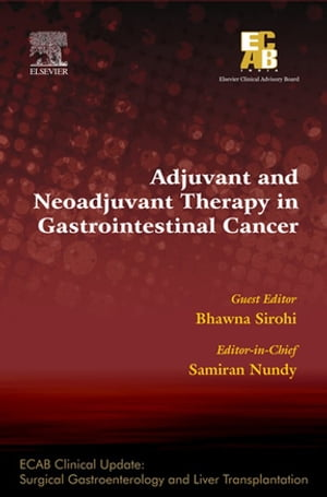ECAB Adjuvant and Neoadjuvant Therapy in Gastrointestinal Cancer
