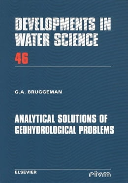 Book Analytical Solutions of Geohydrological Problems by Bruggeman, G.A.