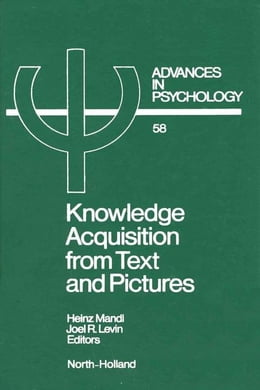 Book Knowledge Acquisition from Text and Pictures by Mandl, H.