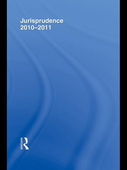 Book Jurisprudence Lawcards 2010-2011 by Routledge Chapman Hall
