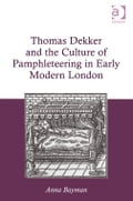 Thomas Dekker (c.1572-1632) was a prolific playwright and pamphleteer chiefly remembered for his vivid and witty portrayals of everyday London life. This book uses Dekker's prose pamphlets (published between 1613 and 1628) as a way in to a crucial and relatively neglected period of the history of pamphleteering. Under James I, after the aggressive Elizabethan exploitation of the new media, pamphleteers carved out a discursive space in which claims about truth and authority could be deconstructed