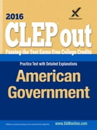 CLEP American Government by Sharon A Wynne
