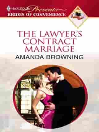 The Lawyer's Contract Marriage de Amanda Browning