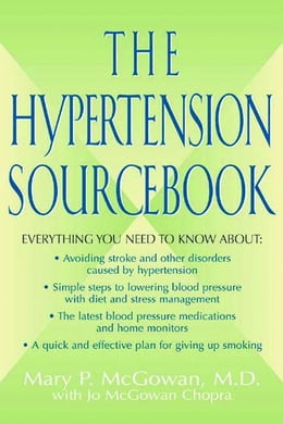 Book The Hypertension Sourcebook by McGowan, Mary