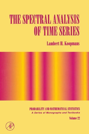 The Spectral Analysis of Time Series