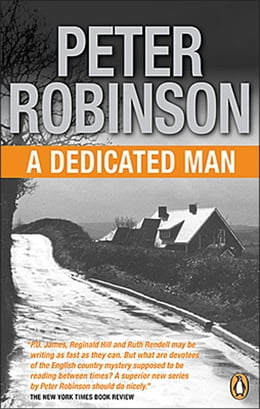 Book Dedicated Man by Peter Robinson