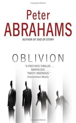 Book Oblivion by Peter Abrahams