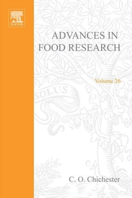 Book Advances in Food Research by Chichester, C. O.