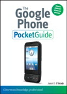 Book The Google Phone Pocket Guide by Jason D. O'Grady