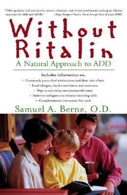 Book Without Ritalin by Berne, Samuel