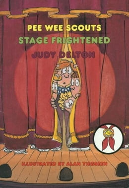 Book Pee Wee Scouts: Stage Frightened by Judy Delton