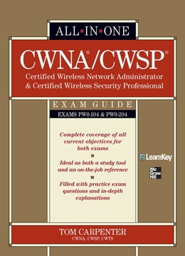 Book CWNA Certified Wireless Network Administrator & CWSP Certified Wireless Security Professional All… by Tom Carpenter