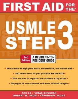 Book First Aid for the USMLE Step 3, Second Edition by Le, Tao