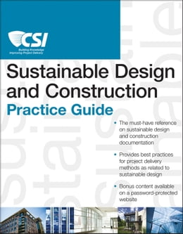 Book The CSI Sustainable Design and Construction Practice Guide by Construction Specifications Institute