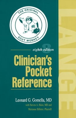 Book Clinician's Pocket Reference by Gomella, Leonard G