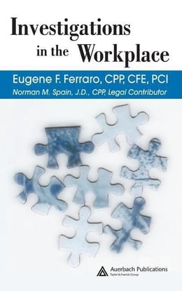 Book Investigations in the Workplace by Ferraro, Eugene  F.