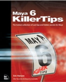 Book Maya 6 Killer Tips by Eric Hanson