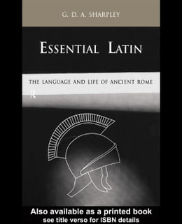 Book Essential Latin by Sharpley, G. D. a.