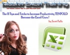 Become the Excel Guru ! - 11 Tips and Tricks to Increase Productivity TENFOLD by Scott Falls