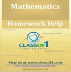 The Domain and Range For a Given Function by Homework Help Classof1