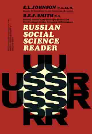Russian Social Science Reader: The Commonwealth and International Library of Science Technology Engineering and Liberal Studies