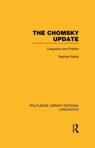 The Chomsky Update (RLE Linguistics A: General Linguistics)