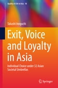 9789811047244 - Takashi Inoguchi: Exit, Voice and Loyalty in Asia - Book