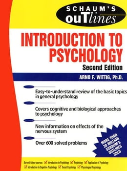 Book Schaum's Outline of Introduction to Psychology by Wittig, Arno F.