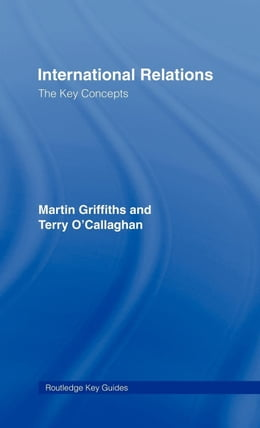 Book International Relations: The Key Concepts by Griffiths, Martin