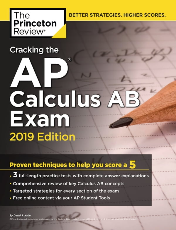 Cracking the AP Calculus AB Exam, 2019 Edition (Kobo eBook