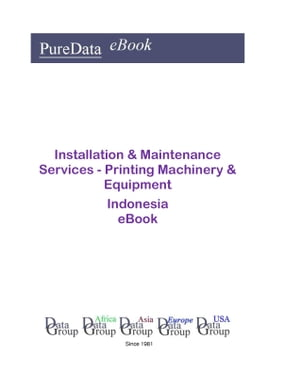 Installation & Maintenance Services - Printing Machinery & Equipment in Indonesia