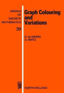 Book Graph Colouring and Variations by de Werra, D.