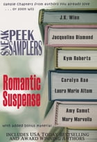 Sneak Peek Samplers: Romantic Suspense