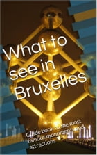 What to see in Bruxelles by Skyline Editions