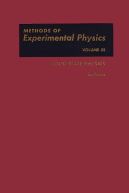 Book Solid State Physics: Surfaces by Park, Robert L.