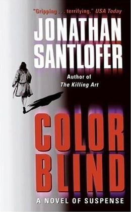 Book Color Blind by Jonathan Santlofer