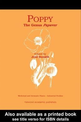 Book Poppy: The Genus Papaver by Bernath, Jeno