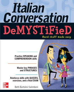 Book Italian Conversation DeMYSTiFied by Beth Bartolini-Salimbeni